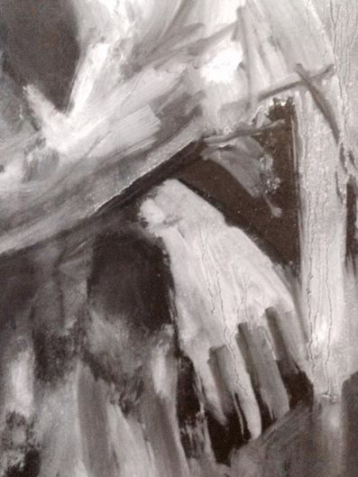 David (hand detail) JONATHAN ELLIS oils 4 December 2014