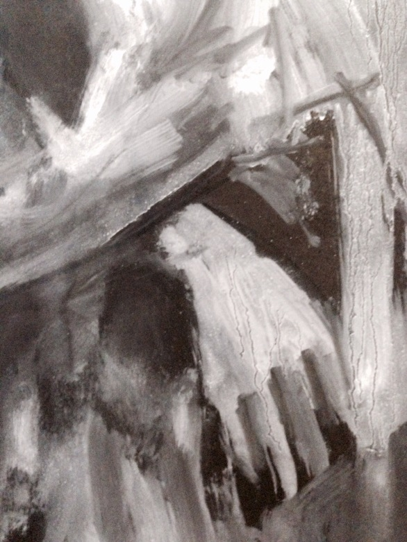 David (hand detail) JONATHAN ELLIS oils 4 December 2014