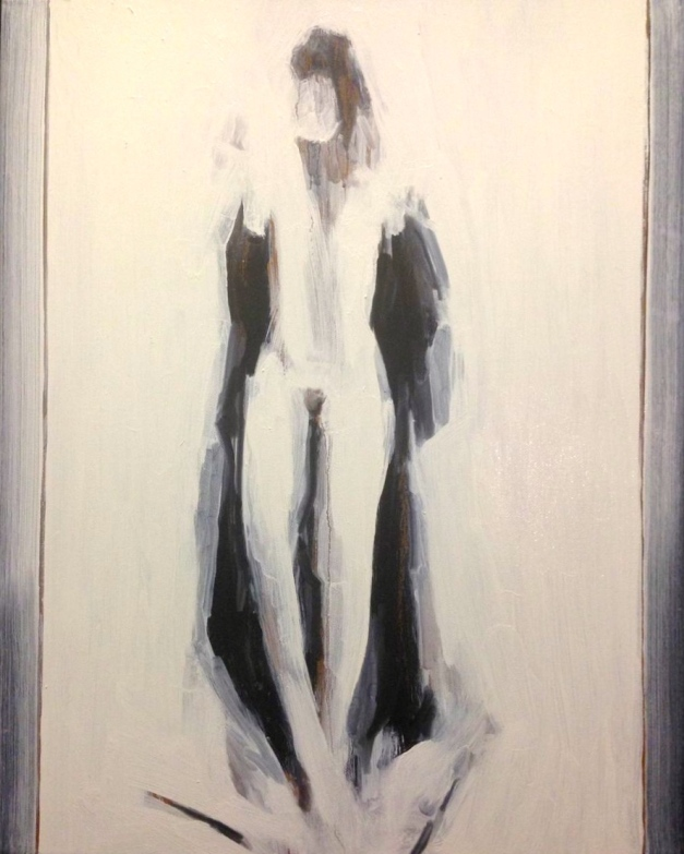 Estelle Standing (third stage) JONATHAN ELLIS oil and acrylic on canvas 5 December 2014