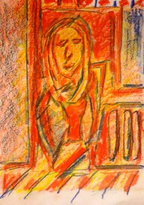Liz JOHN woodless pencils 1 February 2015