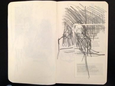 London People sketchbook page 6 JONATHAN ELLIS March 2015