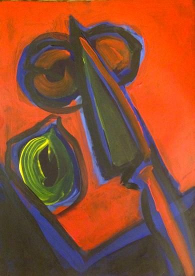 Diebenkorn Still Life Course work 11 Feb 15
