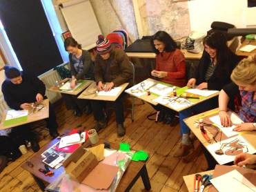 At work Collage course work 1st March Hornbeam Cafe Course