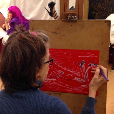 Tracey Emin course 11 March 2015 LSC