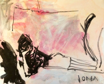 Tracey Emin course artwork #1 11 March 2015 LSC