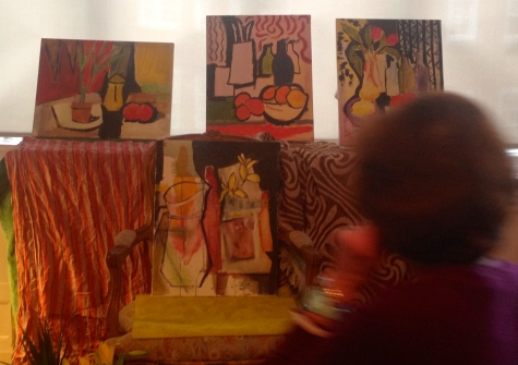 Oranges & other colours: paintings