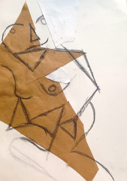 On the verge of cubism collage LSC 15th April 2015