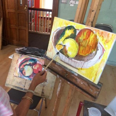 London Sketch Club 14 September 2016: Cezanne Apples